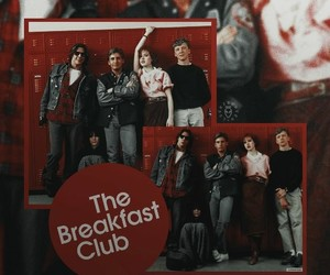movie, The Breakfast Club, and 1980's image