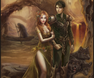 hades, fantasy, and persephone image