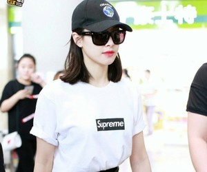 actress, airport, and amber image
