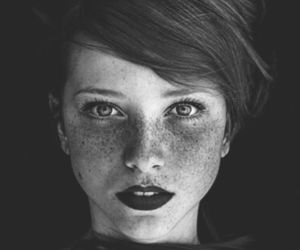 beautiful, girl, and face image