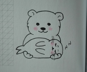 animals, bear, and friendship image