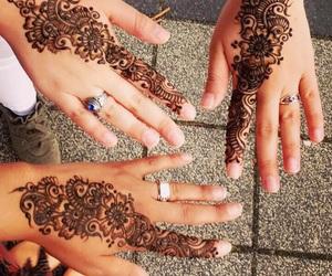 eid, henna, and blackhenna image