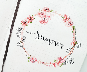creative, notebook, and summer image