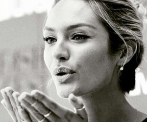 candice swanepoel, model, and kiss image