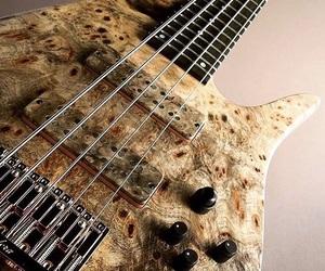 art, bass, and bassist image