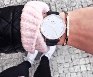 girl, outfit, and danielwellington image