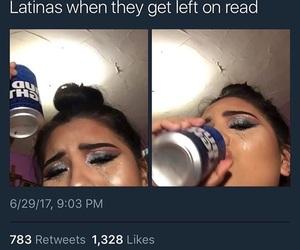 latina, makeup, and tweets image