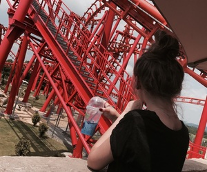 fun, rollercoster, and energyland image