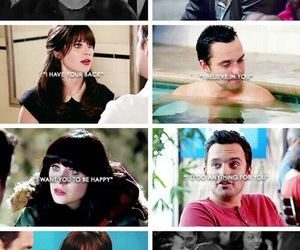 jess, jessica day, and love image
