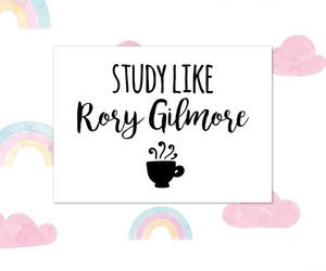 gilmore girls, hard, and high school image