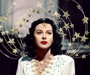 stars, vintage, and hedy lamarr image