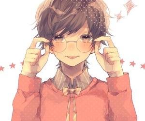 boy and matching image