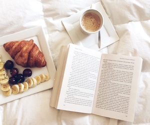 bed, books, and breakfast image