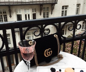 gucci, drink, and bag image