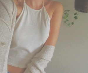 aesthetic, tumblr, and white image