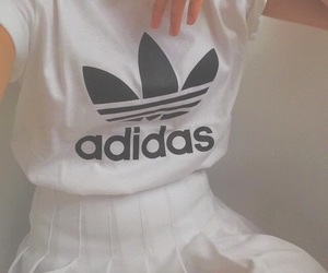adidas, fashion, and whitetumblr image