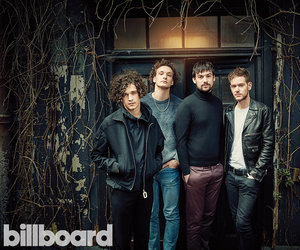 the 1975, band, and billboard image