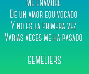 quote, gemeliers, and frases image