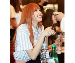 lisa, fan meeting, and blackpink image