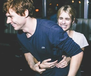emma roberts and evan peters image