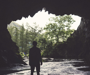 adventure, cave, and inspiration image