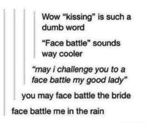funny, hilarious, and kiss image
