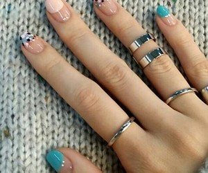 fashion, nail polish, and nail art image
