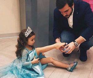 family and princess image