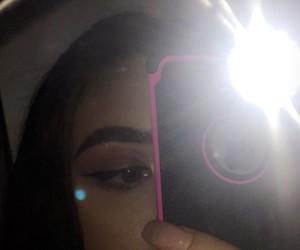 dress, makeup artist, and mirror selfie image
