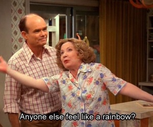 that 70s show, rainbow, and funny image