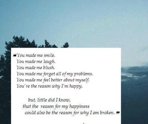 broken, love, and quote image