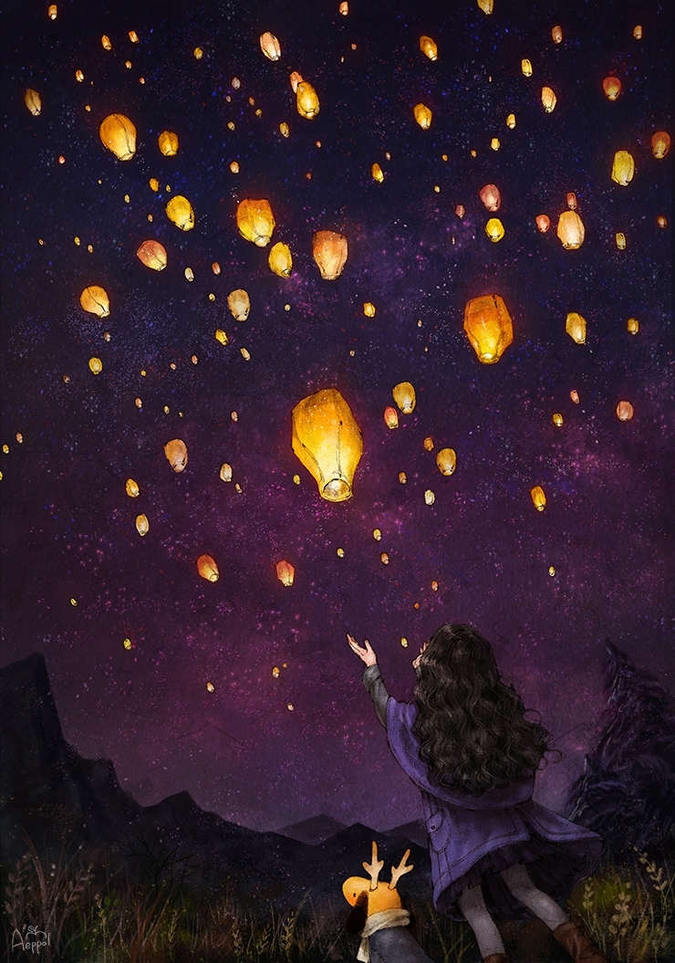 You Can Keep Your Wishes Inside A Sky Lantern And Fly It Away Soon After Every Sky Lantern Will Gather Together And Brighten Up The Sky They Ll Also Brighten Up Your Heart