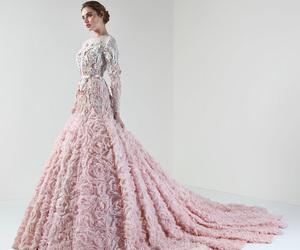 beautiful, pink, and fashion image