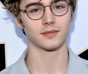 tumblr, miles heizer, and wallpaper image