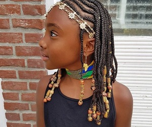 accessories, beads, and black girl image