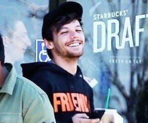 happy, smile, and louis tomlinson image