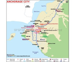 buy anchorage city map and anchorage city map image