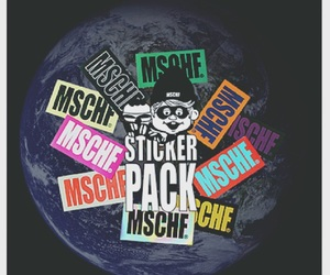 sticker and mschf image