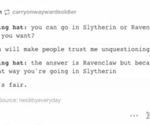 funny, chat post, and harry potter image