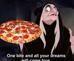pizza, funny, and Dream image