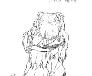 anime, art, and asuka image