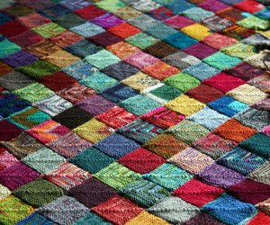 colors, quilt, and squares image