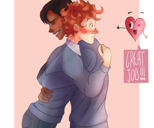 gay, lgbt, and in a heartbeat image