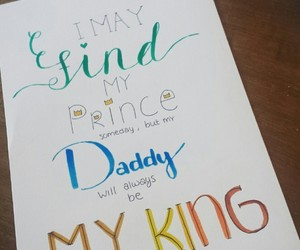 dad, daddy, and handlettering image