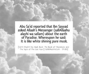 heaven, sparkling, and hadith image