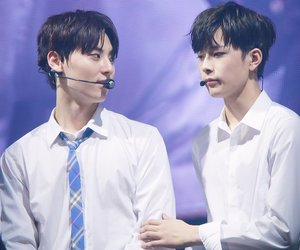 minhyun, wanna one, and produce101 image