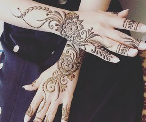 henna and mehndi design image