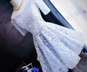 dress, clothes, and lace image