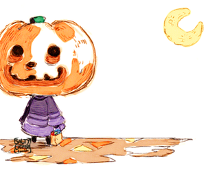 animal crossing, Halloween, and acnl image