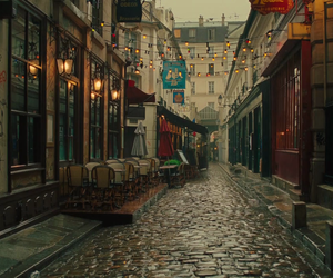 paris, france, and rain image